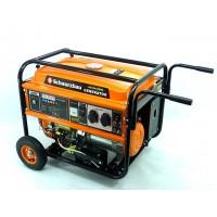 Бензогенератор SCHWARZBAU AG-HA-6500 (5.0-5.5 кВт)