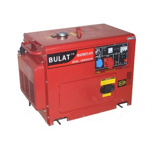 Дизельный генератор Булат BDG 7000E3 ATS SILENT(шумоизоляционный корпус)