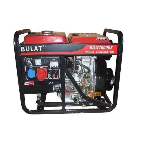 Дизельный генератор Булат WM7000E-3 (7 кВт) трехфазный