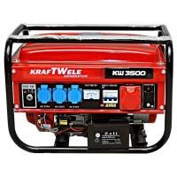 Бензиновый генератор KRAFTWELE OHV3500 3.5KW 3F EL