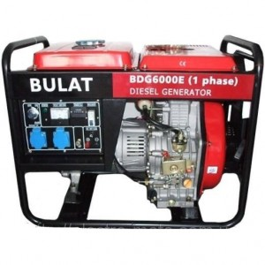 Бензиновый генератор Булат BT7500CLE (1 фаза)