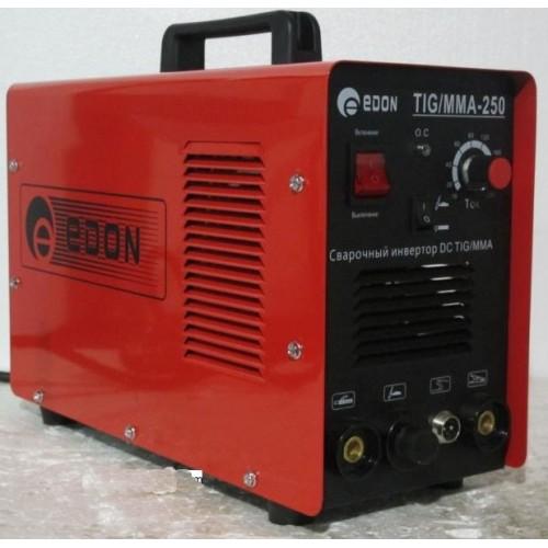 Сварочный инвертор Edon MMA 250 уверенно и качественно работает со всеми видами электродов и даже.