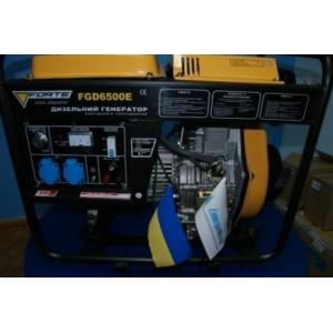 Бензиновый генератор Forte FG 6500E со стартером