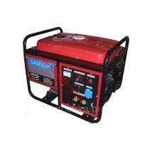Бензиновый генератор Samson SQ-190A сварочный, ток 210А