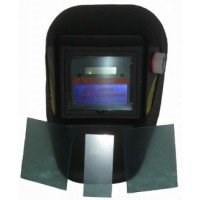 Сварочная маска Хамелеон Герой 350D (+ 3 запасных стекла)