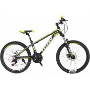 """Велосипед Titan Atlant 12"""" 24"""" Black/Yellow/White"""