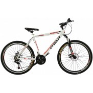 Велосипед Titan Buster 20 White/Red