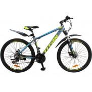 "Велосипед Titan Expert 29"" 21"" gray/green/blue"